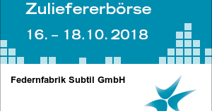 Internationale Zuliefererbörse 2018